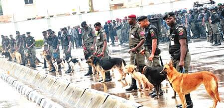 We spent N600m buying police dogs in the last few years- IG Arase says