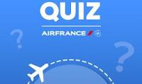 Promoção Quiz Air France Fortaleza - Paris