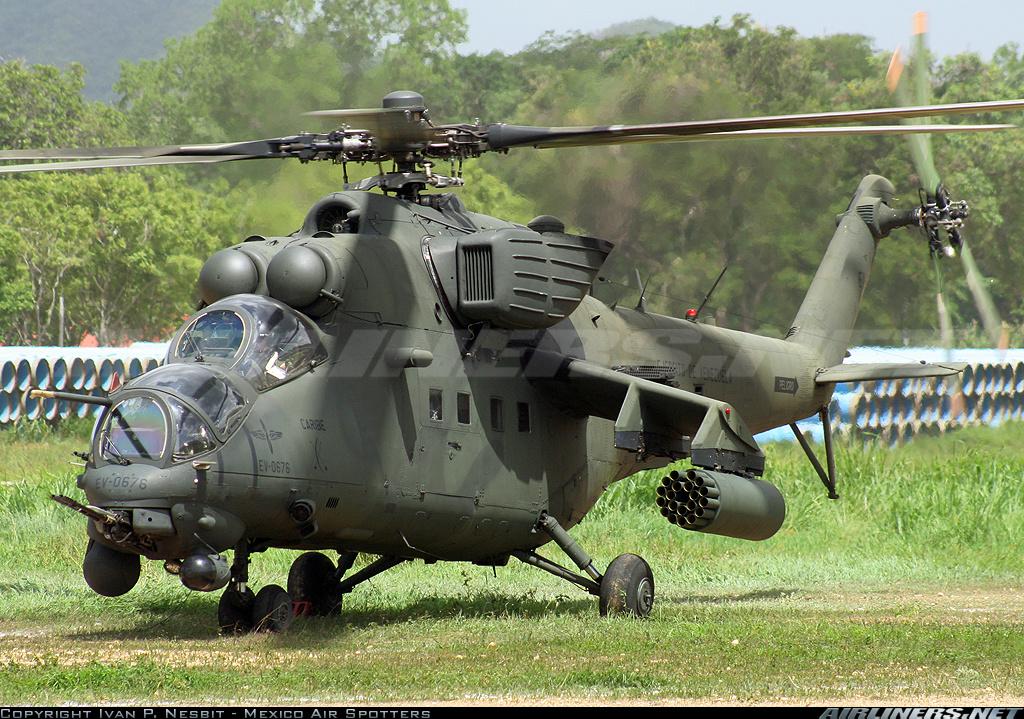 Resultado de imagen para helicópteros MI-35 Caribe
