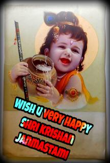 HAPPY ,SHRI, KRISHAN, JANMASTAMI ,IMAGE ,2018