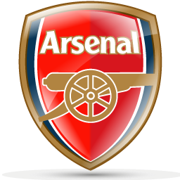Logo Dream League Soccer 2016 Klub arsenal fc