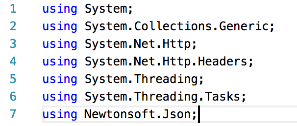 Jeremy Bytes: Consuming a WebAPI Service With  NET Core 2 0