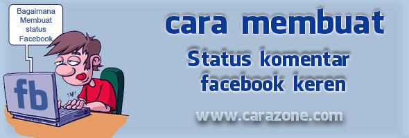 Cara Membuat Status Fb menggunakan Emo Keren