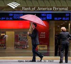 Bank of America Personal – Loans