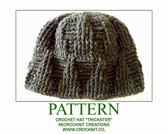 crochet patterns man hat beanie men boys unisex