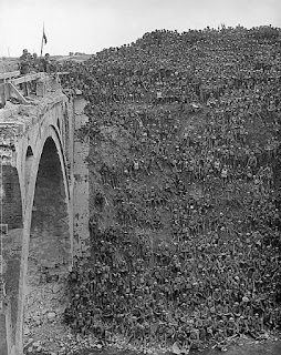The Riqueval Bridge over the St Quentin canal September 29 1918