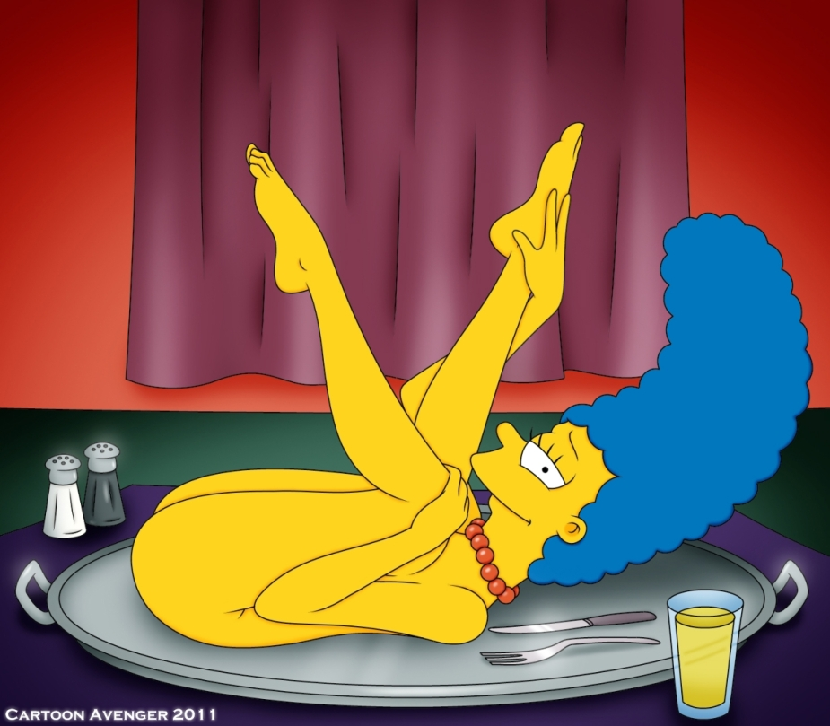 marge simpsons feet