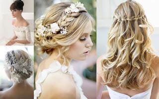 Yaz Düğünü Saç Modelleri