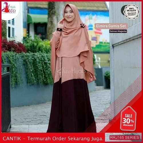 Jual RRJ165S185 Set Syari Elmira Wanita Ik Terbaru Trendy BMGShop