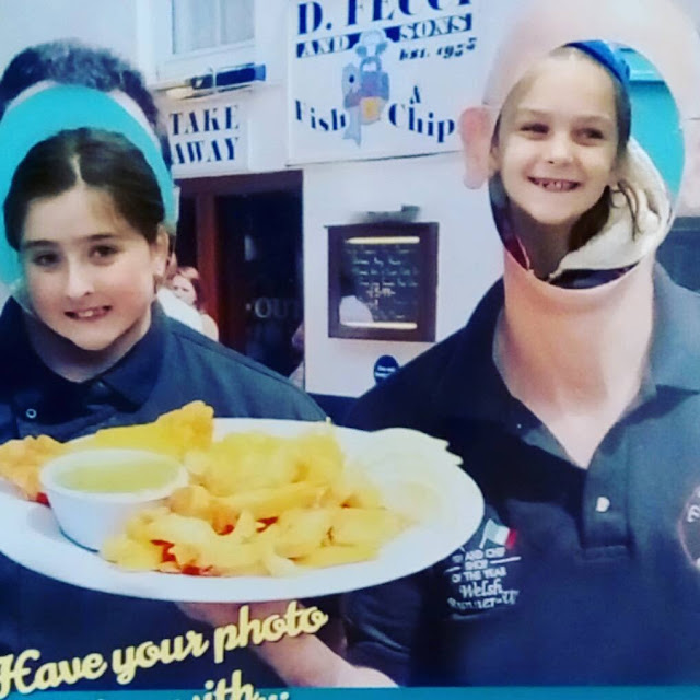 Feccis, Fish and Chips, Tenby, Pembrokeshire, Gluten free chip shop,