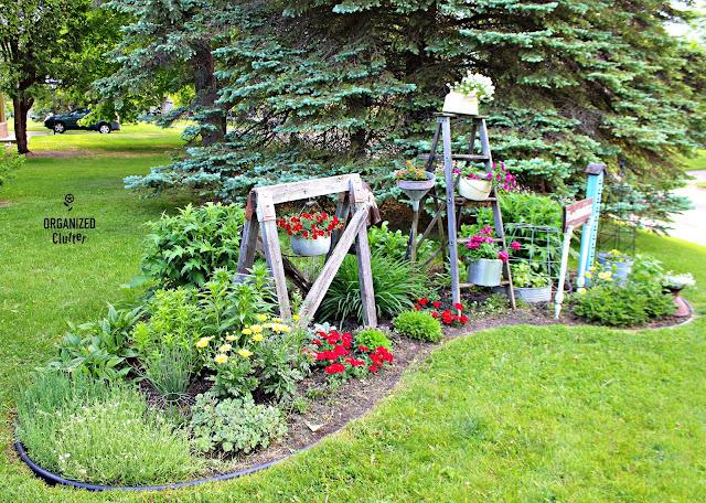 Junk Garden Summer Progression organizedclutter.net