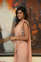 Eesha Rebba in beautiful peach saree at Darshakudu pre release ~  Exclusive Celebrities Galleries 037.JPG
