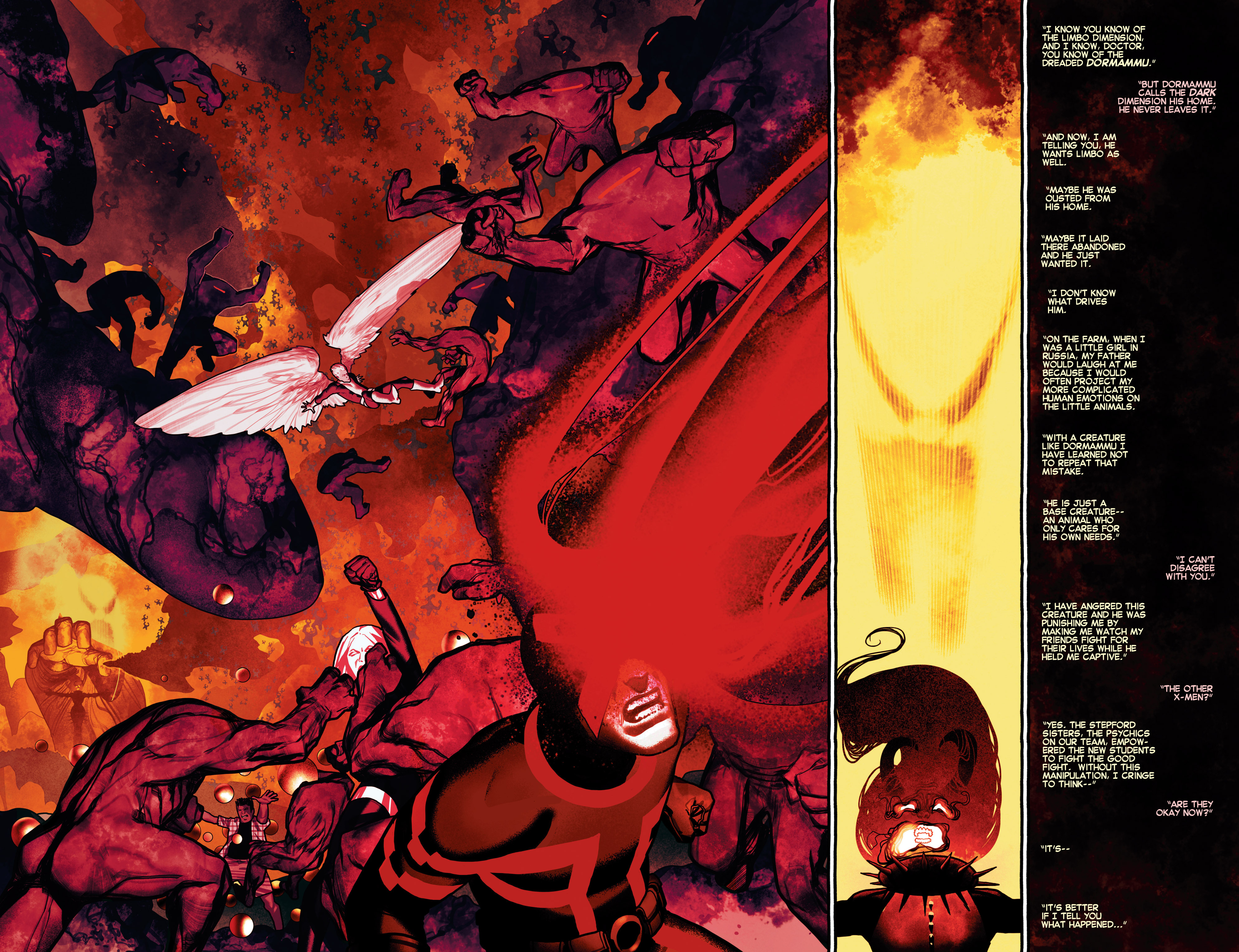 Read online Uncanny X-Men (2013) comic -  Issue # _TPB 2 - Broken - 25