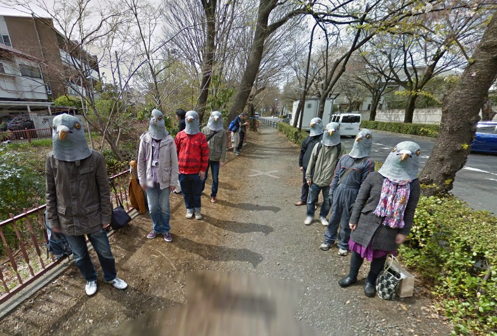 Imágenes y avistamientos misteriosos de Google Street View