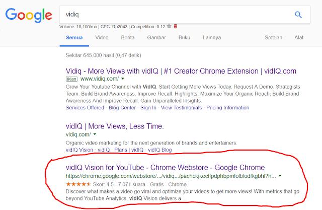 fungsi vidiq untuk youtube