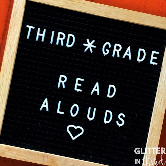 Best read aloud chapter books for third-grade
