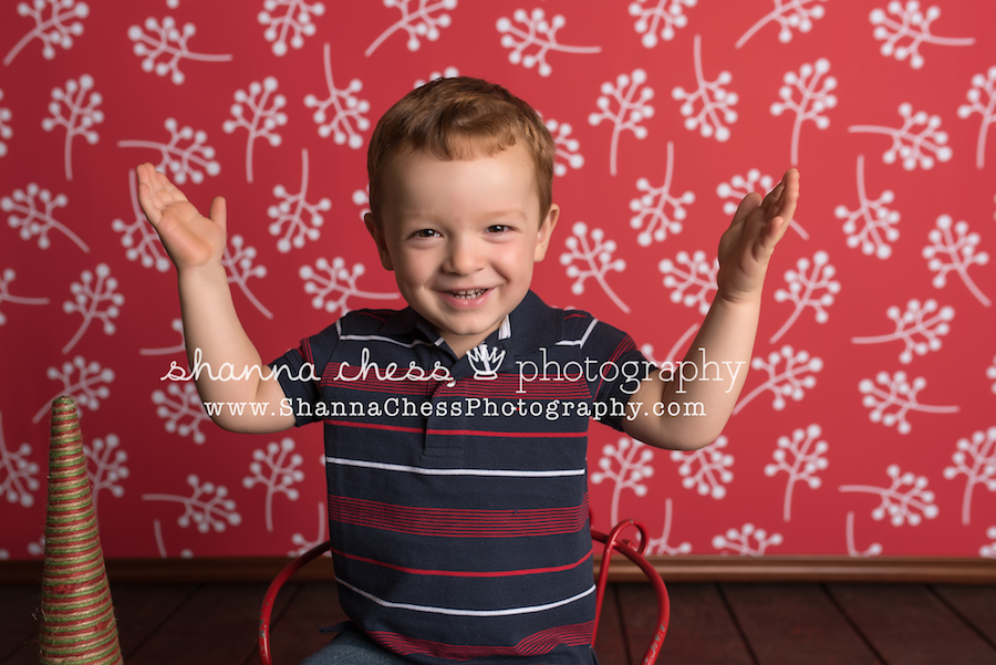 eugene oregon family photographer christmas mini session