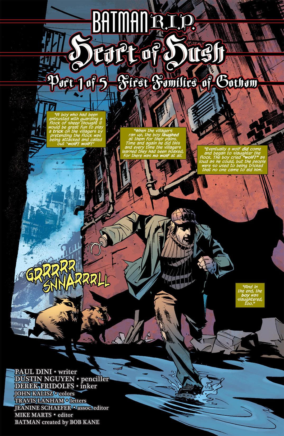 Detective Comics (1937) 846 Page 1