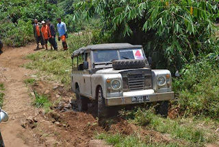 Outbound lembang Offroad Land Rover