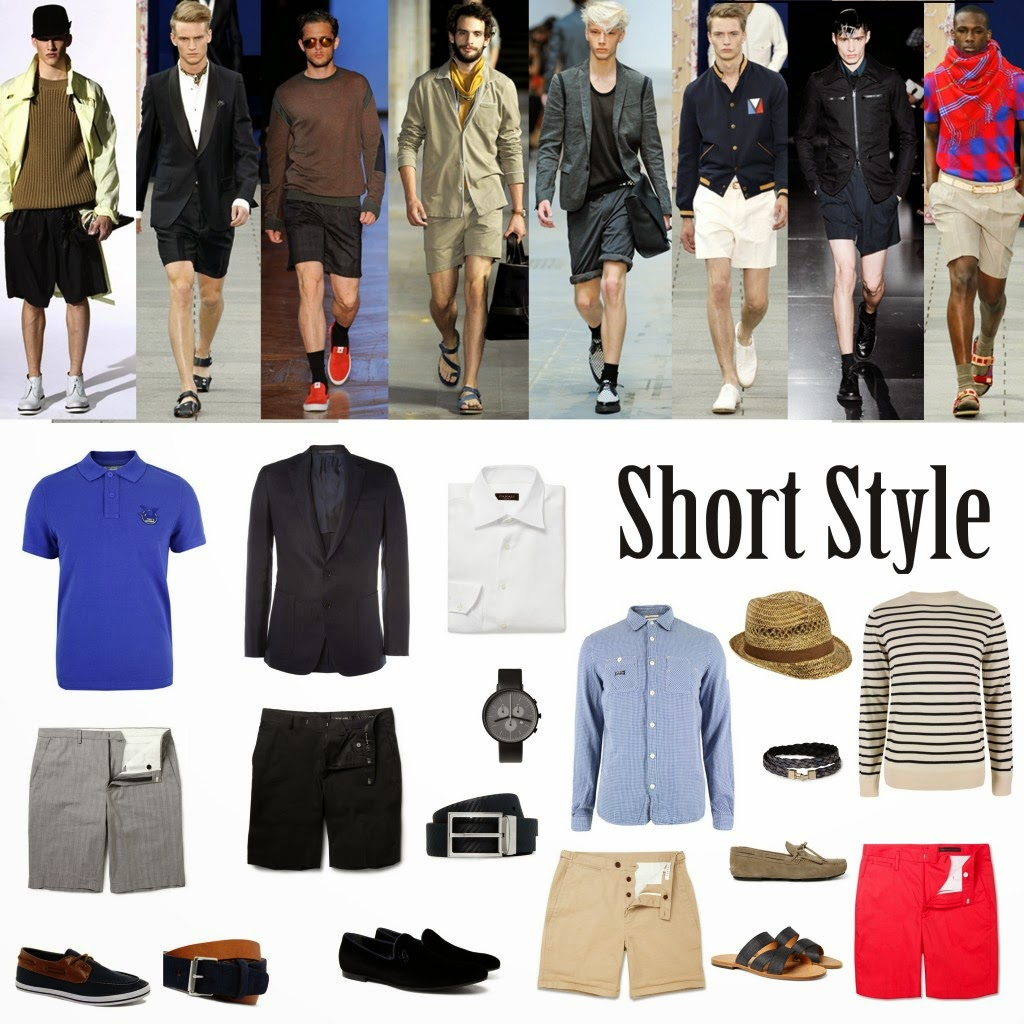 dc98f08863 Rachel´s Fashion Room  El pantalón corto masculino (short)  cómo combinarlo