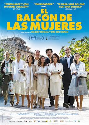 Cartel oficial español: El balcón de las mujeres (2016)