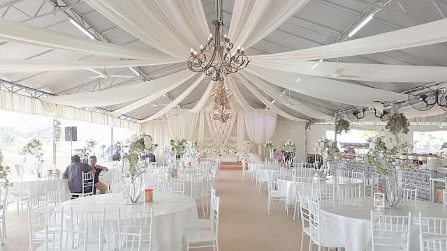 laman sutera kajang white wedding