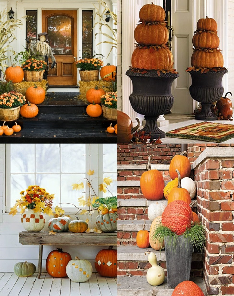 Autumn Outdoor Decorations ~ Autumn Posters Picture