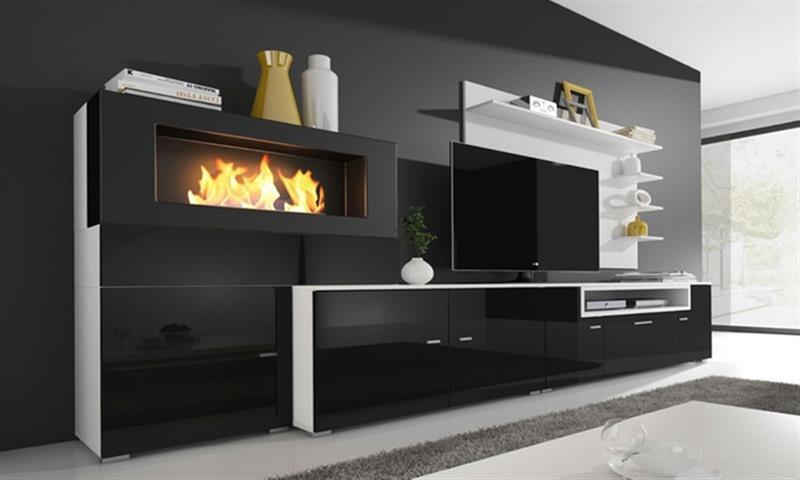 Chimenea Electrica Mueble. Simple Com Chimenea Electrica Casa Y ...