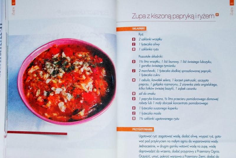 Zupa z kiszoną papryką i ryżem