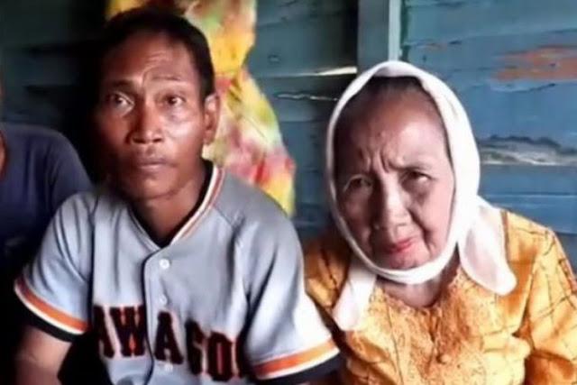 Allahu Akbar, Bawa Mas Kawin Rp 12.500, Seorang Pria Nikahi Nenek 75 Tahun