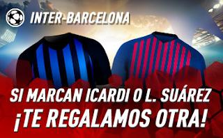 sportium Promo champions Inter vs Barcelona 6 noviembre