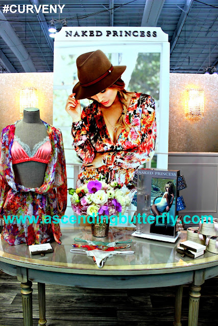 Naked Princess Booth MODE LINGERIE AND SWIM CURVEXPO 2015
