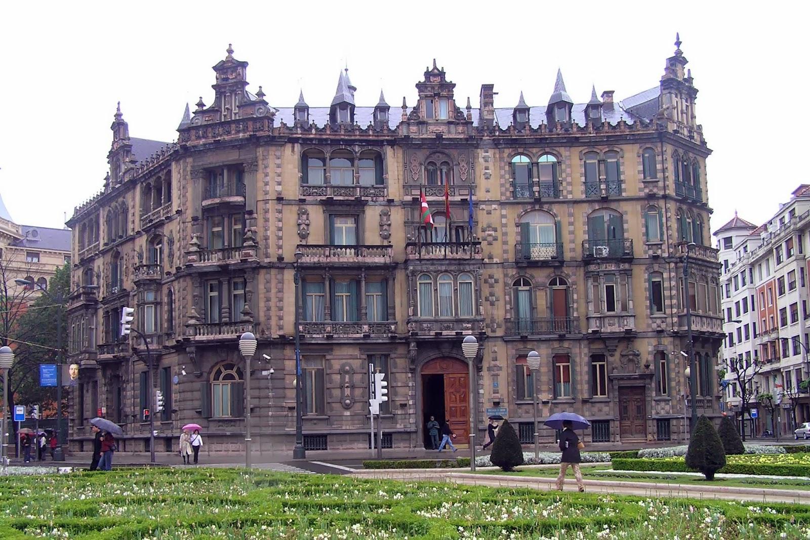 El Palacio Chávarri.