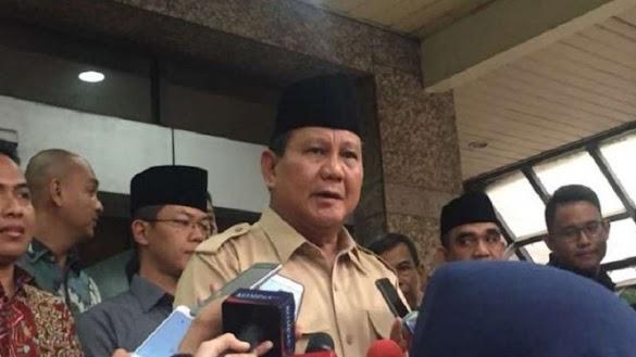 Prabowo Prihatin Masih Ada Warga Kelaparan di Usia RI ke-73