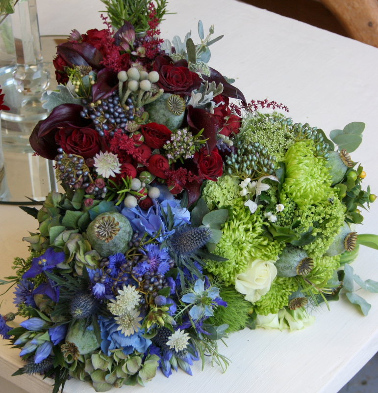 Wedding Flowers Lancashire: The Flower Magician: Bridal Bouquet, Bridesmaid's Bouquets