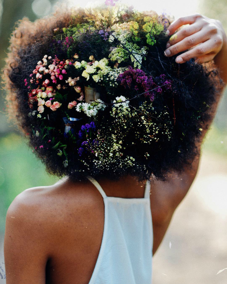 afro beauty // Tumblr inspiration