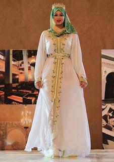 Model Baju Kaftan Mewah untuk Pesta