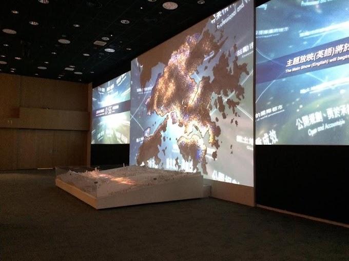 【貫穿過去與未來】呈現城市規劃 香港展城館