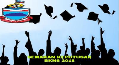 Semakan Keputusan BKNS 2020 Online Biasiswa Kerajaan Negeri Sabah