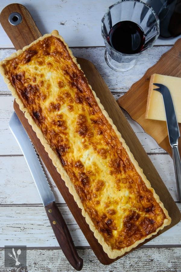 Käse-Quiche