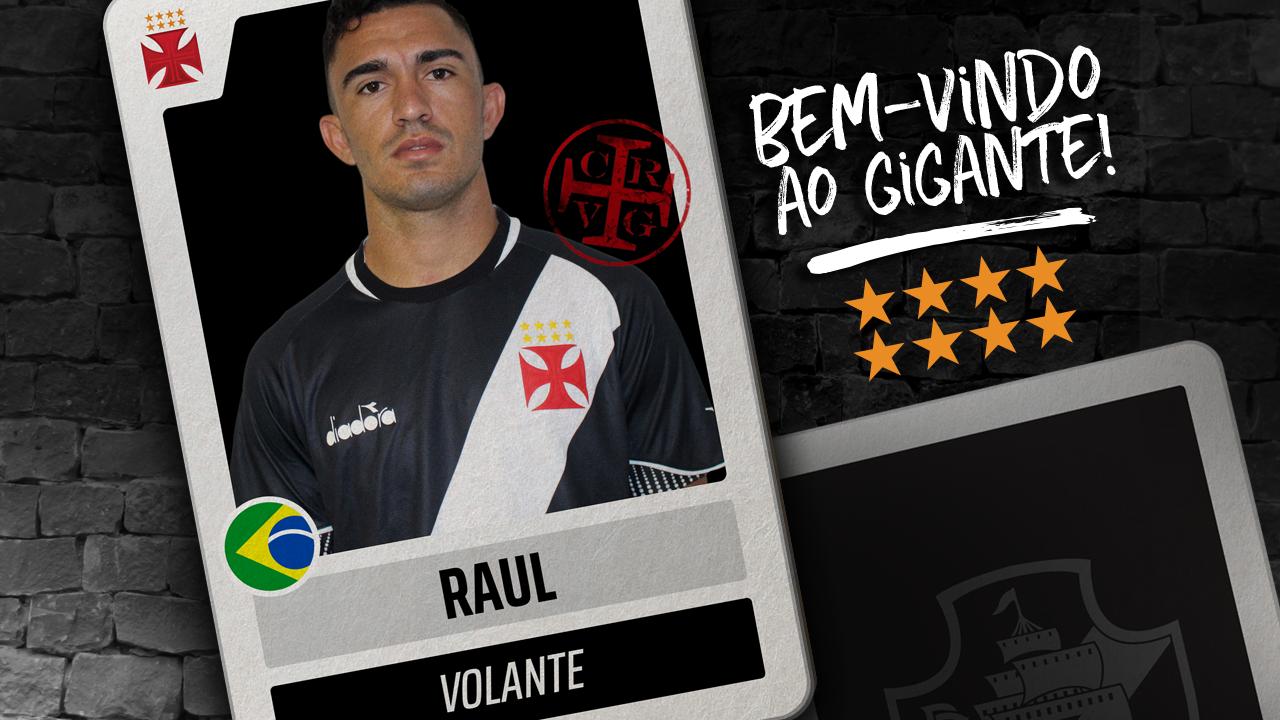 d3ef6bc083 Vasco apresenta Raul