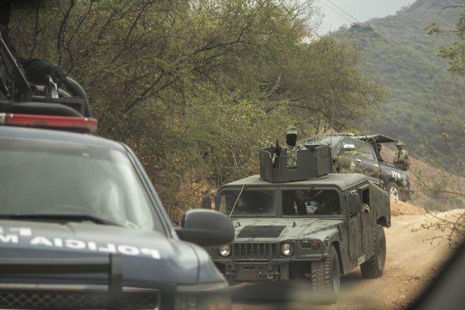 """Huyen de guerra entre """"Chapos"""" y Beltrán en Badiraguato"""
