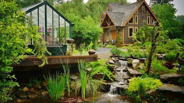 Plantas y jardines privados del condado de Saratoga en Nueva York