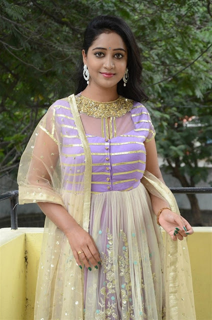 Aishwarya Addala Hot Pic at Sagara Theeramlo Movie Audio Launch