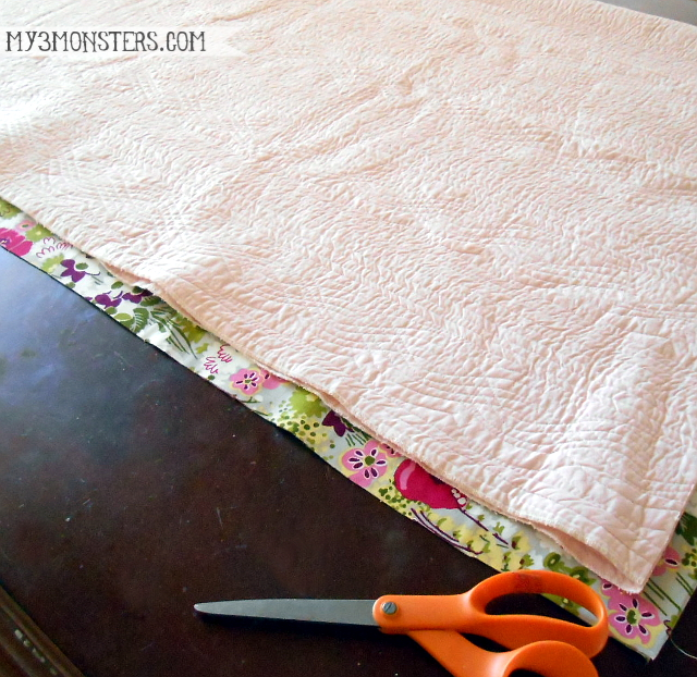 Super Easy Lap or Baby Quilt at my3monsters.com  No quilting required!  ee5a190a7