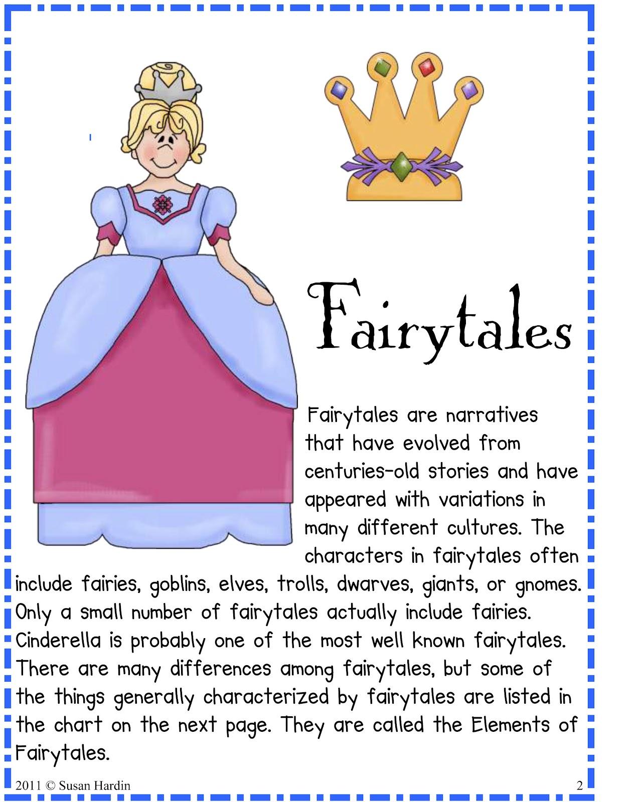 Fables Worksheet 2nd Grade