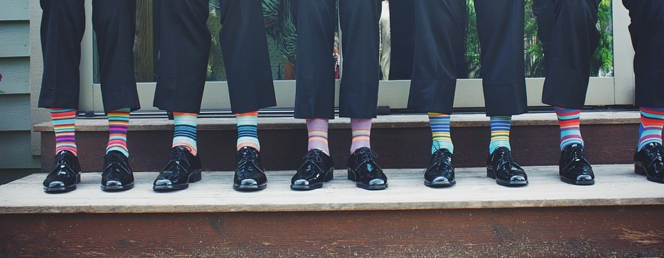 Groomsmen Accessories - Socks - Shoes - Ties - Cufflinks - Watches
