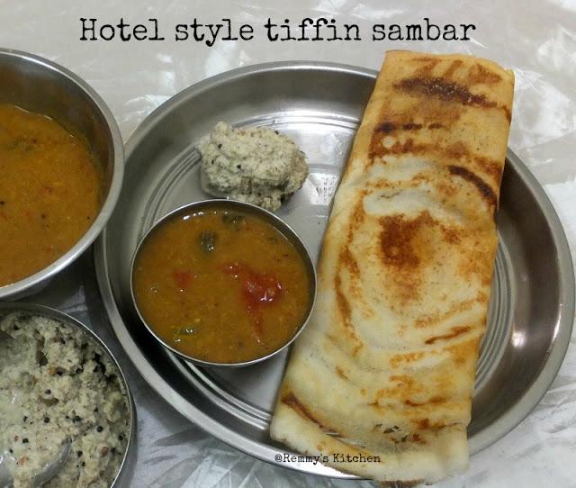 Coimbatore Annapoorna Hotel style tiffin  sambar recipe