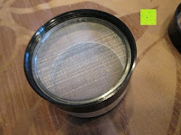 """Sieb: DCOU aluminium tabak spice herb mühle / anlage mühle / pollen sammler mit magnetischen cover mit pollen - fänger 4 schichten 2,5 - Zoll """"schwarz"""
