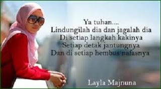Gambar DP BBM Islami doa untuk Suami